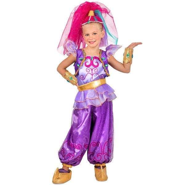 princess paradise shimmer and shine shimmer child costume purple