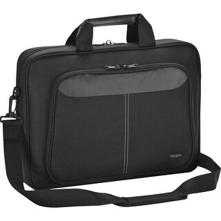 """Targus Intellect TBT240US Carrying Case (Sleeve) for 15.6"""" Notebook - Black - Nylon - Shoulder Strap - 14.3"""" Height x 15.8"""" Widt"""
