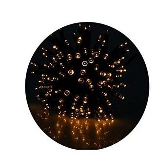 AGPtek Solar Power 100 LED String Fairy Light Outdoor-Yellow