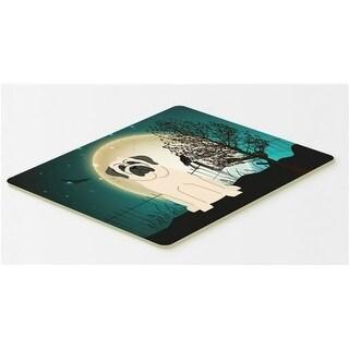 Carolines Treasures BB2207CMT Halloween Scary Mastiff White Kitchen or Bath Mat 20 x 30