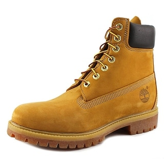 Timberland 6 in. Premium Men Round Toe Leather Tan Work Boot