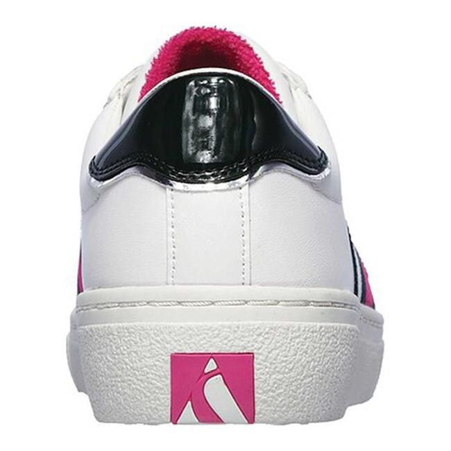 Skechers Women's Goldie Collegiate Cruizers Sneaker WhiteGreen