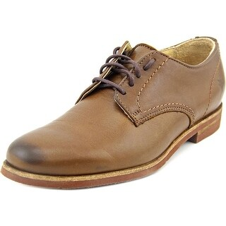 Frye Jill Round Toe Leather Oxford