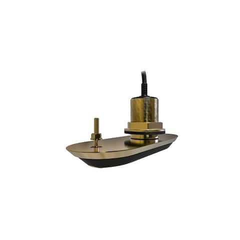 Raymarine A80465 RV-200 RealVision 3D Bronze Thru-Hull Transducer- 26Ft. Cable