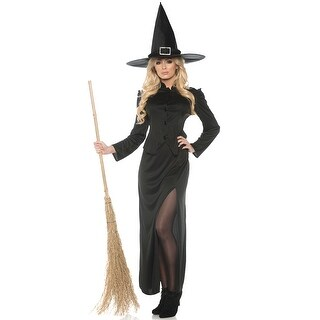 Underwraps Witchcraft Adult Costume - Black