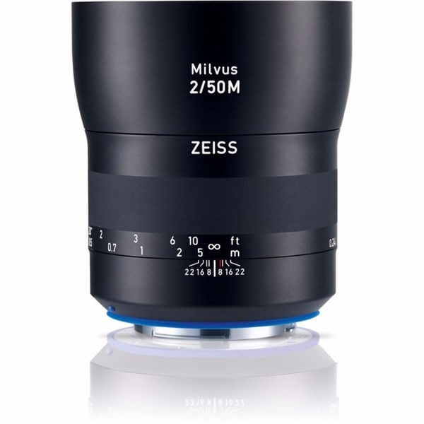 Zeiss Milvus 50mm f/2M ZE Lens for Canon EF