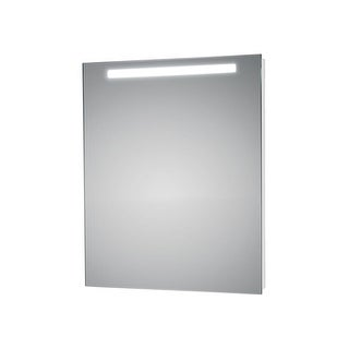 """WS Bath Collections T5-1 L45711 27"""" x 35"""" Mirror with LED Lighting - anodized aluminum - N/A"""