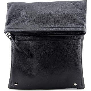 Latico 6693 Leather Messenger - Black