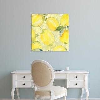 Easy Art Prints Leslie Mark's 'Lemon Medley II' Premium Canvas Art
