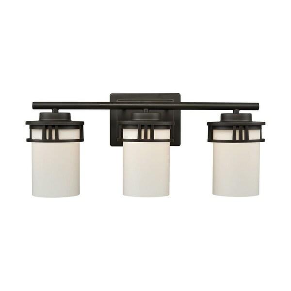 Thomas Lighting Cn578311 Ravendale 3 Light 20 Wide Bathroom Vanity With W Oil Rubbed Bronze