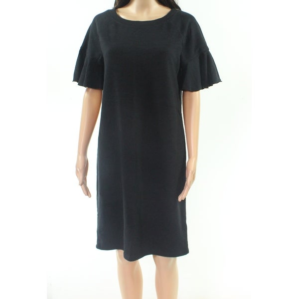 d15293ee1c Shop Lauren By Ralph Lauren Black Womens Size Small S T-Shirt Dress ...