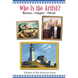 Crystal Productions Who is the Artist? Painters/Amer Scene DVD, 25 min, Grade 3 and Above