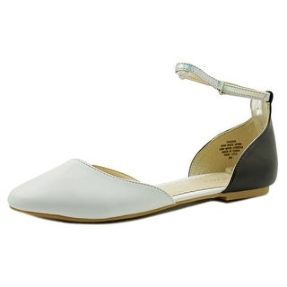 Nine West Fundew Women Pointed Toe Leather Flats