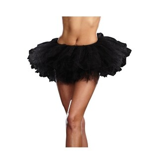 Dreamgirl Basic Tutu Petticoat (Option: White)