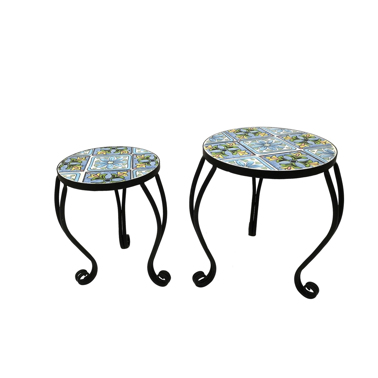 Kanstar Mini Flower Plant Stand Perfect for Flower Pots Garden And Living  Room│Air Plant Indoor│Outdoor Plant Holder (set of 2)