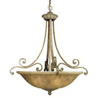 Dolan Designs 821 Six Light Bowl Pendant from the Windsor Collection - Sante Fe