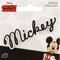 Mickey Mouse - Disney Mickey Mouse Iron-On Applique