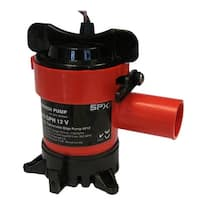 "Johnson Pump 1250 GPH Bilge Pump 1-1/8"" Hose 12V"