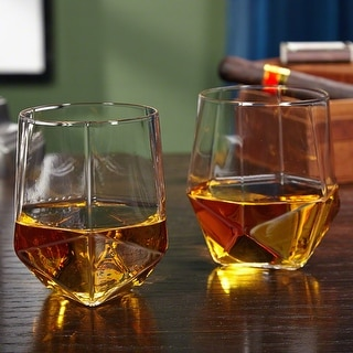 Link to Prism Faceted Whiskey Tumblers, Set of 2 Similar Items in Glasses & Barware