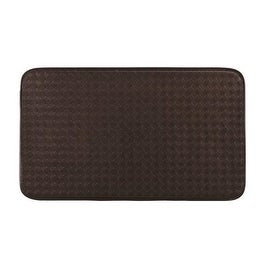 "Homebasix CM-1830SBBR Cushion Floor Mat, 18"" X 30"", Brown"
