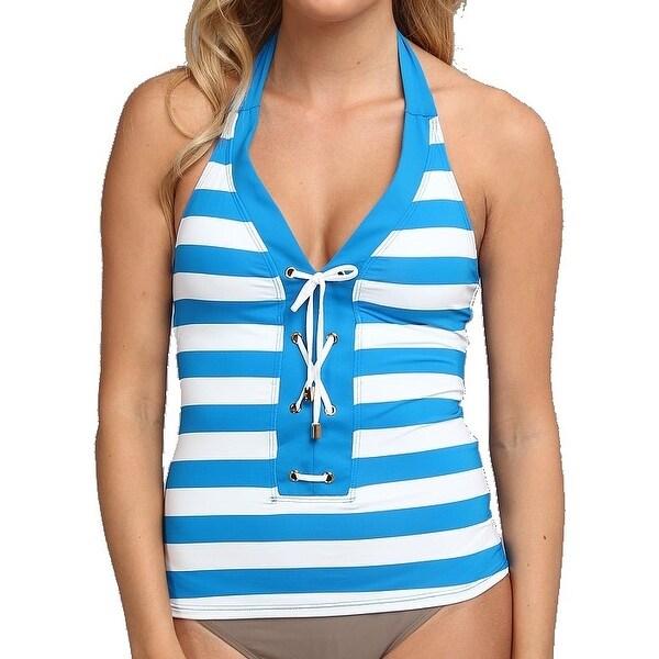 8fd32a98bd564 Shop Bleu Rod Beattie Blue Women's Size 6 Tankini Top Swimwear - Free  Shipping On Orders Over $45 - Overstock - 18060571