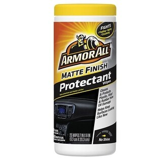 Armor All 18227 Matte Finish Plastic/Vinyl Protectant, 25 wipes