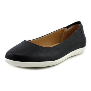 Abella Olivya   Round Toe Synthetic  Flats