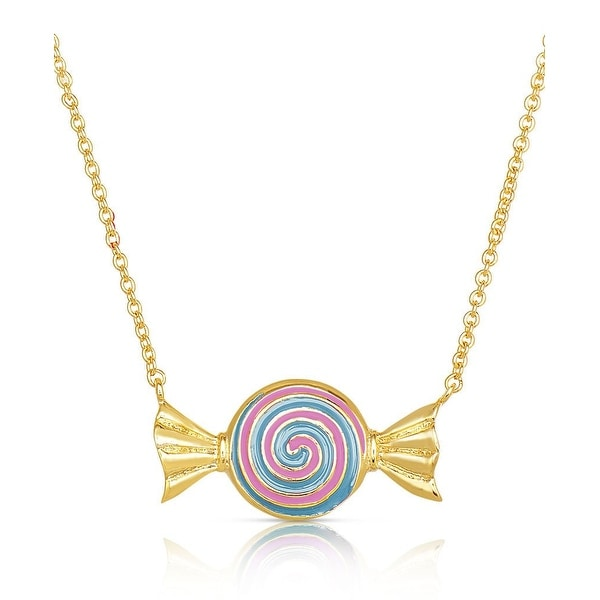 Lily Nily Girl's Candy Necklace - Purple
