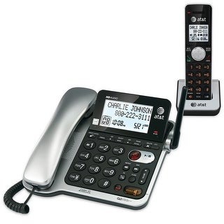 Vtech/At&T 80-8493-00 Cl84102 Dect 6.0 Corded/Less Phone With Digital Answer Sys