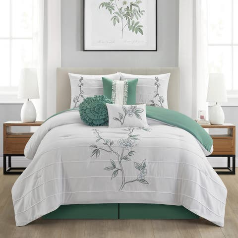 Grand Avenue Blair 7 Piece Comforter Set