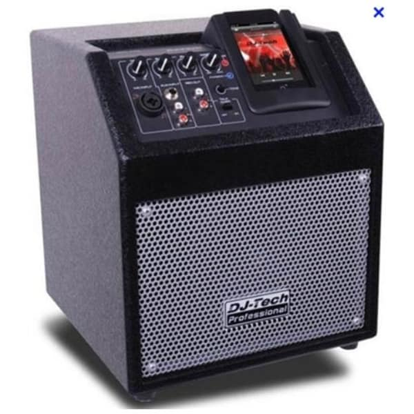 FIRST AUDIO MANUFACTURING ICUBE50 50W Portable Speaker with iPod Dock