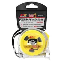 Perform Tool W5041 25 ft. Clear Tape Measure