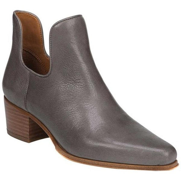 88ef4929454f Sarto by Franco Sarto Women  x27 s Ashbury Bootie Greystone Saratoga Tumble  Calf Leather