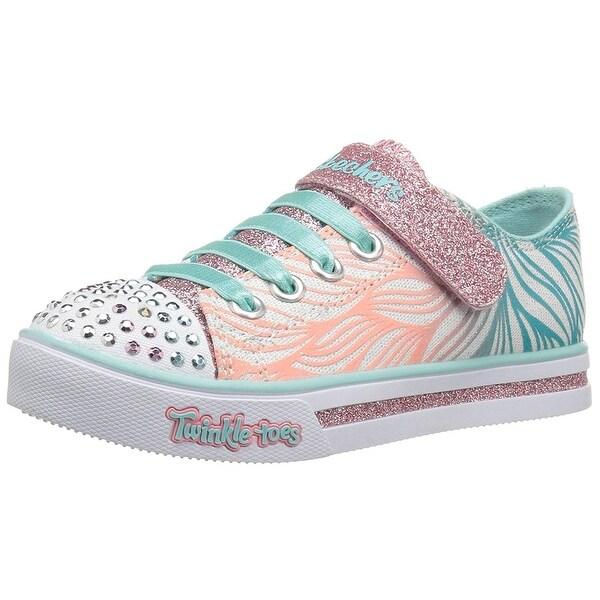 Shop Skechers Girls  Sparkle Glitz-Shiny Spirit Sneaker a58e4bca8d4c
