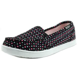 Roxy RG Lido III Round Toe Canvas Loafer|https://ak1.ostkcdn.com/images/products/is/images/direct/6af410a962de5e94504c82d5c884978783d2ecc4/Roxy-RG-Lido-III-Youth-Round-Toe-Canvas-Black-Loafer.jpg?impolicy=medium