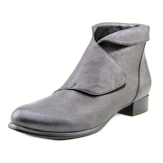 Everybody By BZ Moda Faith Pointed Toe Leather Bootie