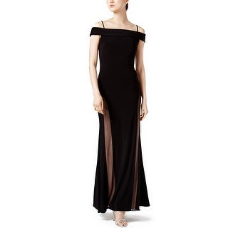 Nightway Off The Shoulder A-Line Evening Gown Dress - 8