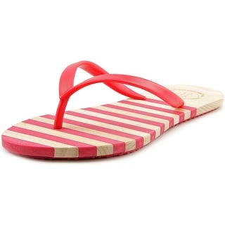 French Connection Filipa Women Open Toe Synthetic Red Flip Flop Sandal