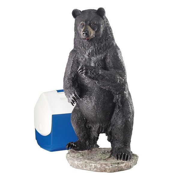 Design Toscano Fishing for Trouble Bear Statue: Large