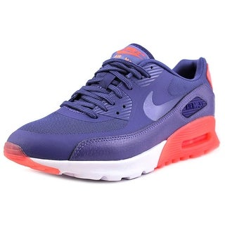Nike Air Max 90 Ultra Essential Women Round Toe Synthetic Blue Running Shoe