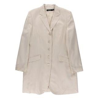 Lauren Ralph Lauren Womens Coat Silk Poplin