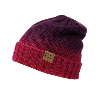 Gravity Threads CC 2 Tone Beanie|https://ak1.ostkcdn.com/images/products/is/images/direct/6af672ceb43f40dc1a0ca0ac56c259d6772509aa/Gravity-Threads-CC-2-Tone-Beanie.jpg?impolicy=medium