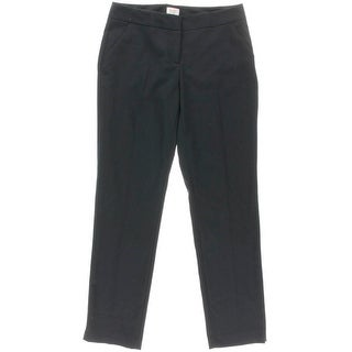 Laundry by Shelli Segal Womens Solid Flat Front Dress Pants - 6
