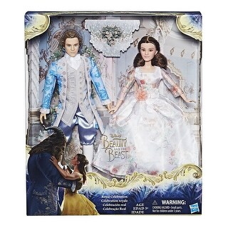 Disney Princess Beauty & The Beast Royal Celebration Collection Belle W Prince