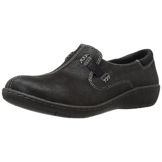 Skechers Womens Ellensburg Textured Casual Flats