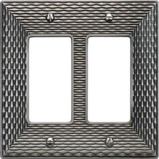 Atlas Homewares MANPDR Mandalay Double Rocker Switch Plate
