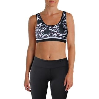 Central Park Womens Sports Bra Printed Quick Dry