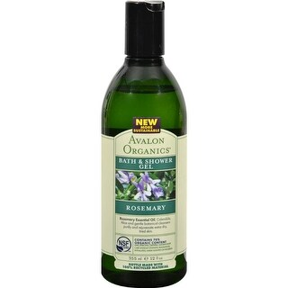 Avalon Organics - Bath And Shower Gel - Rosemary ( 2 - 12 FZ)