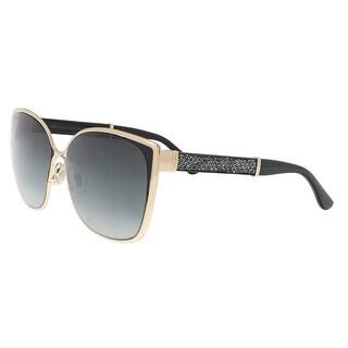 Jimmy Choo MATY/S 017B Gdbkglttr Cat Eye Sunglasses - 58-14-140