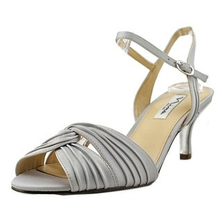 Nina Camille Open Toe Leather Sandals
